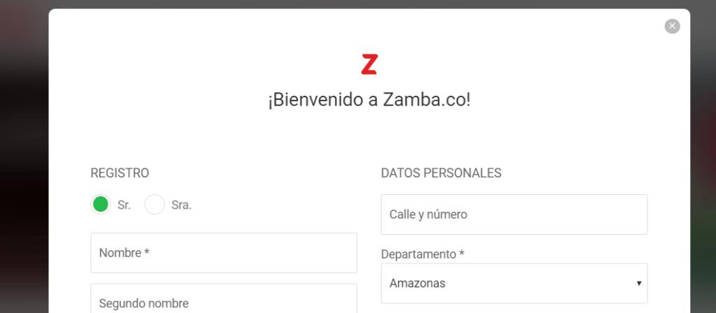 zamba registro