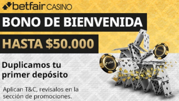 Betfair Bono de Bienvenida Casino