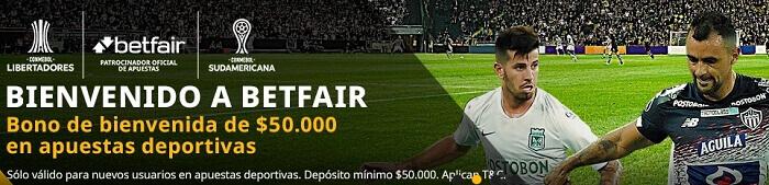 Betfair Colombia Oferta